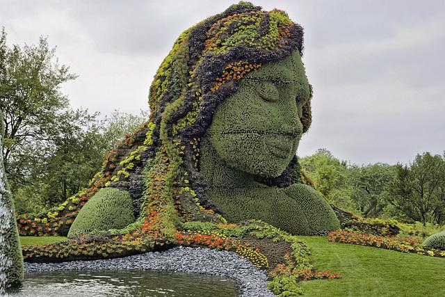 Mother Earth #1 – Mosaïcultures Internationales de Montréal, Botanical Garden, Montréal, Québec