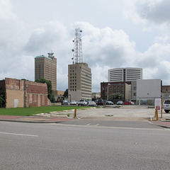 Excellent view of Beaumont, Texas.