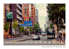 Sunday Afternoon in Yokohama City