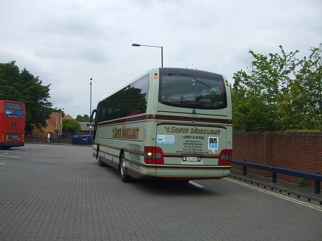 DSCF5175 Jos Smet en Zonen (Reizen 't Soete Waeslant) PGL 967  in Bury St. Edmunds - 30 May 2014