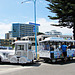Visitors Train at Mount Maunganui