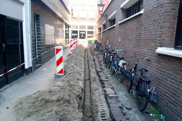 Vrouwensteeg in Leiden