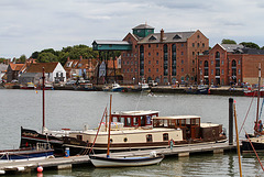 Barges at the quay