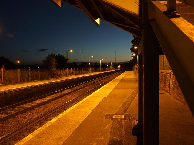 Annan Station @ Night