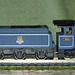 N gauge GWR King Class. King Richard II with coach