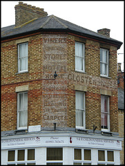 Witney ghost sign
