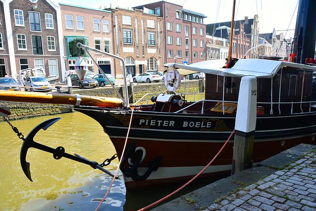 ST Pieter Boele in the harbour of Dort