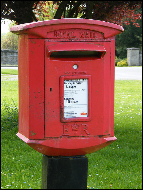 post box OX17 1200