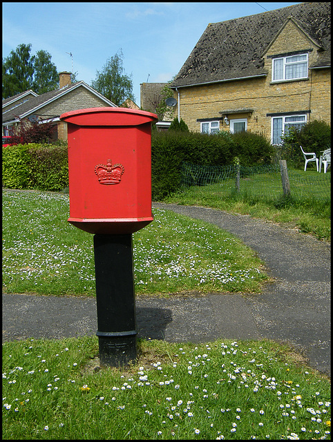 The Glebe post box