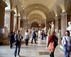 People In the Louvre