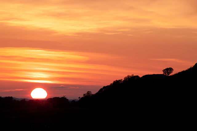 Sunset at Dervaig