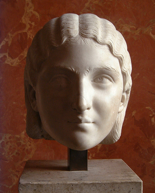 Head of a girl