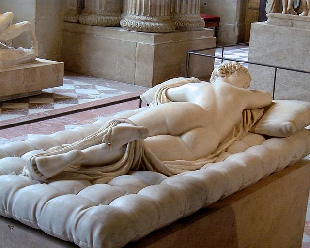 Hermaphroditus sleeping