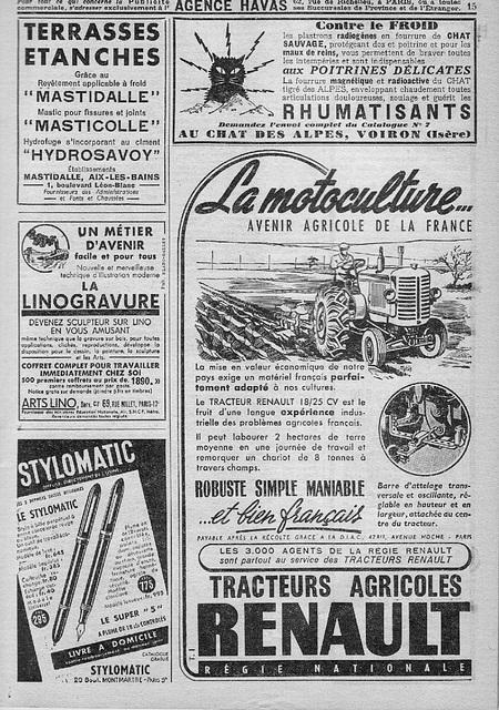 1949débuttractorisation