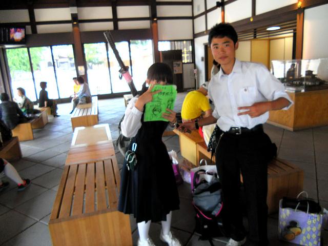 Even little school girls carry them!!!