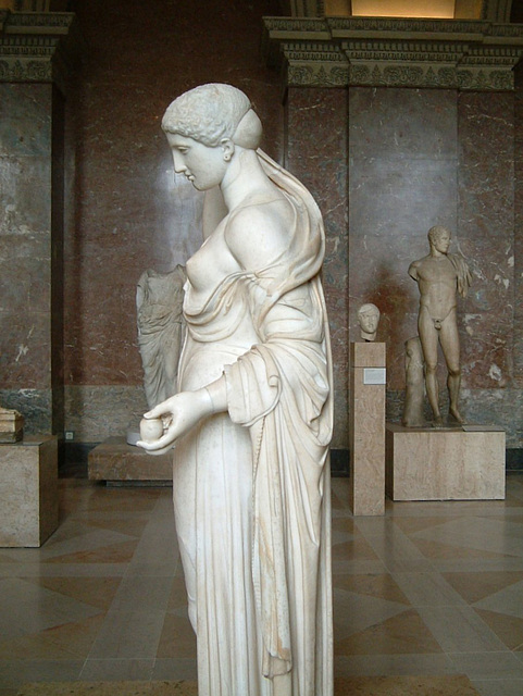 "Aphrodite ""Venus Genetrix"" side view"