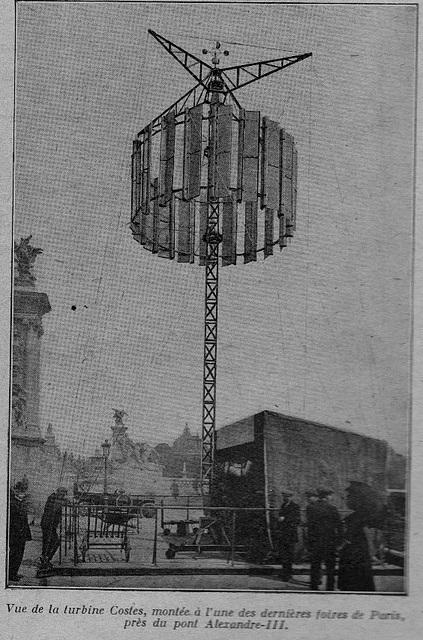 éolienne en 1925