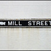 old Mill Street street sign