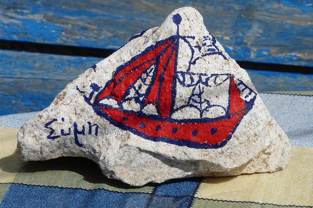 Pedi- Decorated Rock