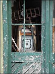 abandoned petrol pump