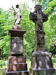 tower hamlets cemetery, mile end, london