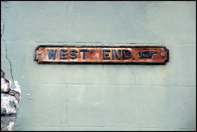 West End street sign
