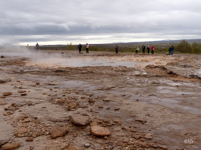 ... et son attraction principale, le Strokkur