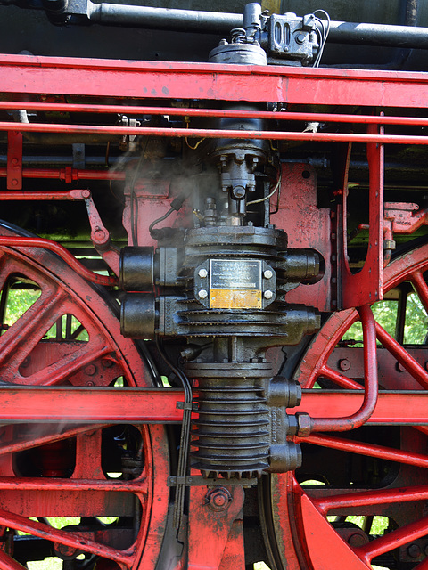 Dordt in Stoom 2014 – Air pump of the steam engine 01 1075