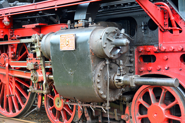Dordt in Stoom 2014 – Steam cylinders of the engine 01 1075