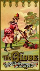 The Globe Lawn Mower