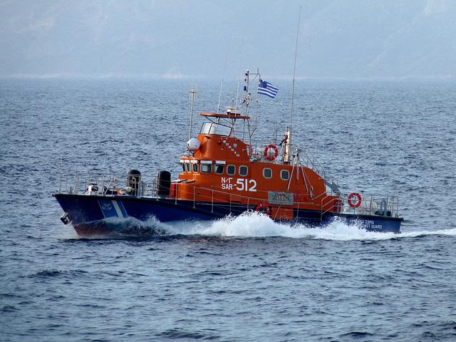 Hellenic Coastguard at Speed