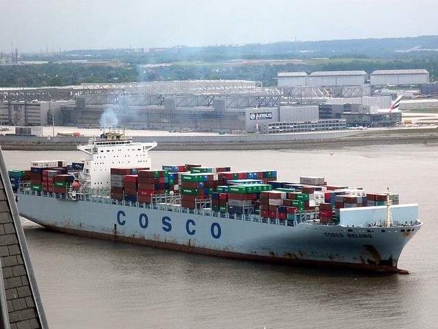 Containerschiff  COSCO  BEIJING