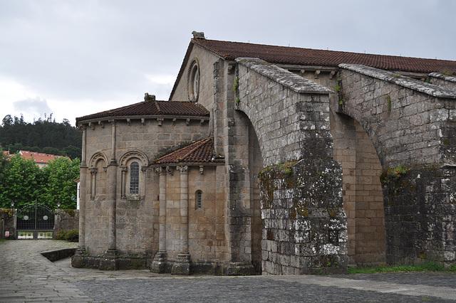 Abside de la Colegiata de Santa María del Sar.