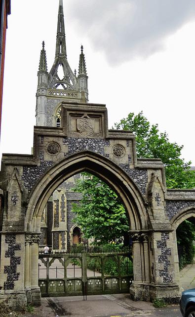 st. mary of charity, faversham, kent