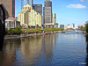 From Princes Bridge next to Flinders Street Station