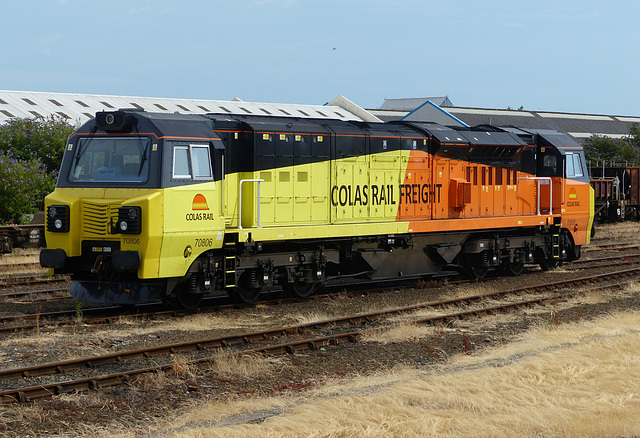 70806 at Eastleigh - 2 July 2014