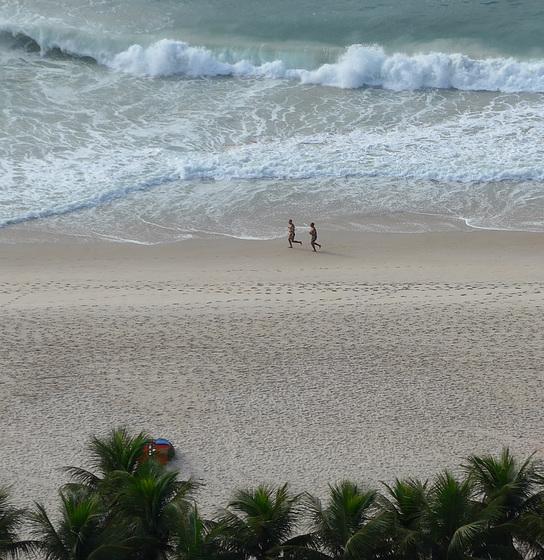 Copacabana Beach Rio Brazil