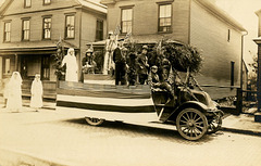 Parade Float, Welcome Home Day, Sunbury, Pa., 1919