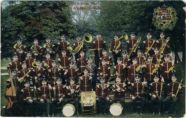 Grenadiers Band, Toronto, Canada.