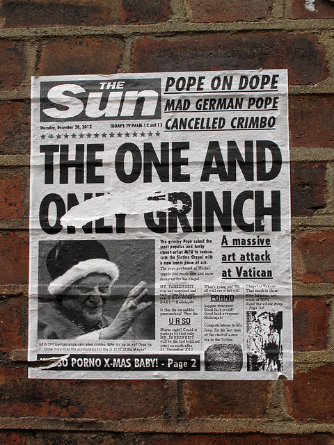 Pope on Dope: The One and Only Grinch