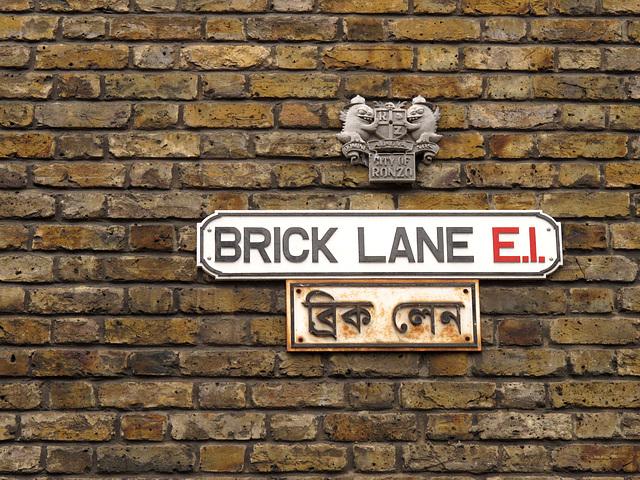 Brick Lane in the City of Ronzo