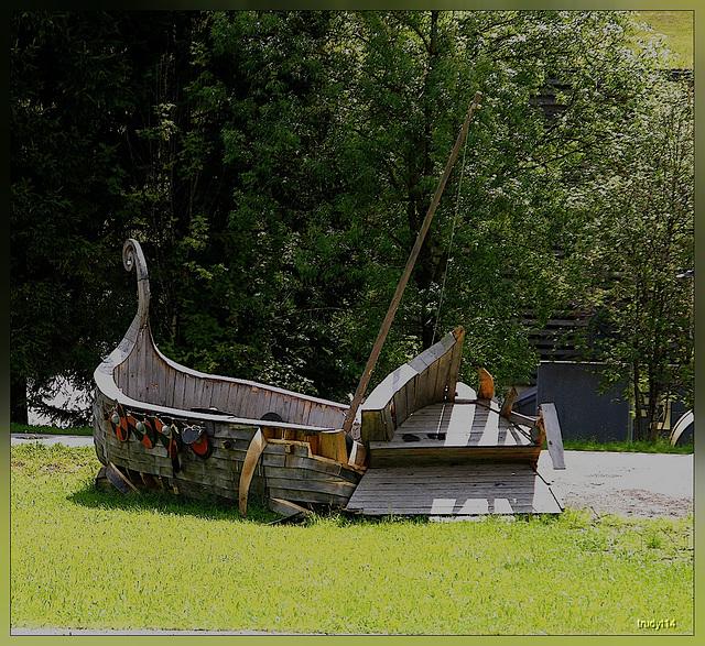 vikingboat in oostenrijk?