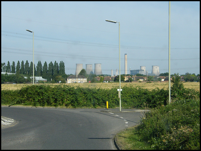 approaching Didcot