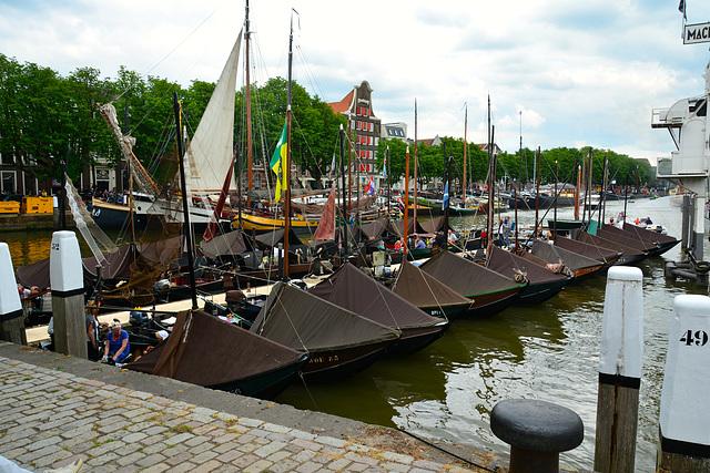 Dordt in Stoom 2014 – Old fishing boats