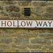 Hollow Way street sign