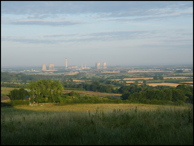 Didcot from the Clumps