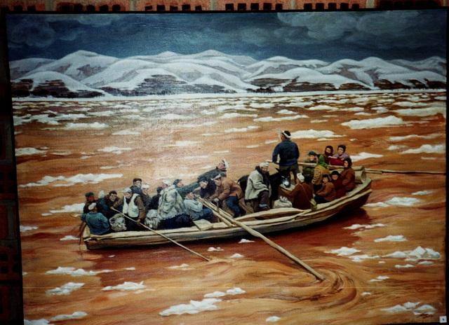 He Dan - Le Fleuve jaune - exposition à Arras 1998