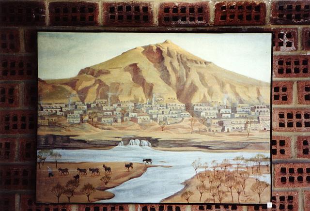 village au bord de la rivière (et les briques de Noroît !)