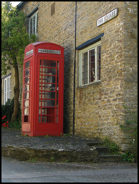 Square phone box