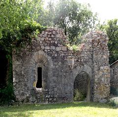Ruine du seigneur de Ballazuc, Ruin of the lord of Ballazuc
